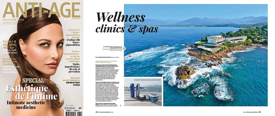 Anti Age Magazine #31 : HydroPeptide s'installe au Sofitel Golfe d'Ajaccio Thalassa sea & spa